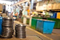 Maquinaria industrial fotos de stock royalty free