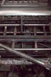 Maquinaria industrial do ferro obsoleto velho Imagens de Stock Royalty Free
