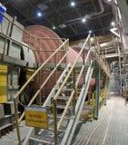 Maquinaria industrial - molino de bola Foto de archivo