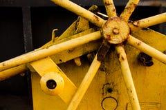 Maquinaria industrial oxidada Imagenes de archivo