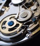 Maquinaria mecânica do relógio Imagem de Stock Royalty Free