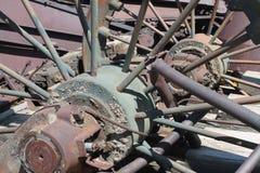 Maquinaria oxidada Fotografia de Stock Royalty Free