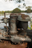 Maquinaria oxidada vieja Fotografía de archivo
