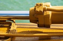 Maquinaria pesada Foto de archivo