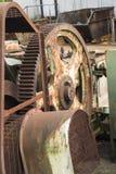 Maquinaria vieja oxidada Foto de archivo libre de regalías
