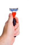 Maquinilla de afeitar Fotos de archivo libres de regalías