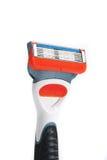 Maquinilla de afeitar aislada Foto de archivo libre de regalías