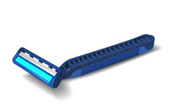 Maquinilla de afeitar de seguridad Fotos de archivo libres de regalías