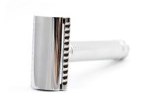 Maquinilla de afeitar de seguridad sin la cuchilla Foto de archivo libre de regalías