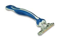 Maquinilla de afeitar del gris azul Imagenes de archivo