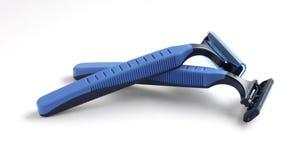 Maquinilla de afeitar disponible imagen de archivo libre de regalías