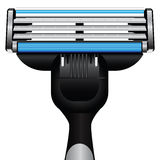 Maquinilla de afeitar moderna Imagen de archivo libre de regalías