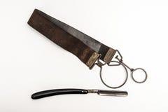 Maquinilla de afeitar oxidada Fotografía de archivo
