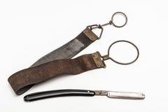 Maquinilla de afeitar oxidada Foto de archivo libre de regalías