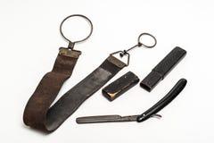 Maquinilla de afeitar oxidada Imagen de archivo