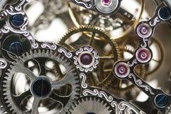 Maquinismo de relojoaria Imagens de Stock