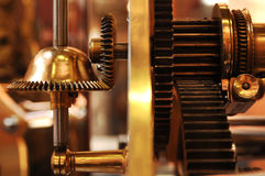 Maquinismo de relojoaria fotografia de stock