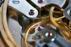 Maquinismo de relojoaria foto de stock royalty free