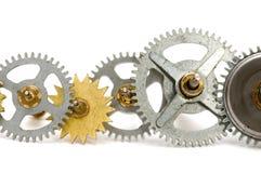 Maquinismo de relojoaria Imagens de Stock Royalty Free