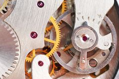 Maquinismo de relojoaria Imagem de Stock Royalty Free