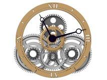 Maquinismo de relojoaria ilustração do vetor