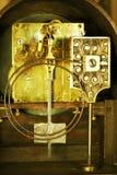 Maquinismo de relojoaria do vintage Fotos de Stock Royalty Free