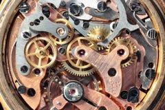 Maquinismo de relojoaria do vintage Fotografia de Stock Royalty Free