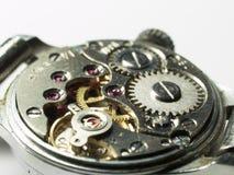 Maquinismo de relojoaria sob o reparo Imagem de Stock