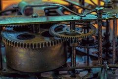 Maquinismo de relojoaria velho Imagens de Stock Royalty Free