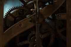 Maquinismo de relojoaria velho Foto de Stock