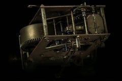 Maquinismo de relojoaria velho Fotografia de Stock