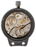 Maquinismo de relojoaria velho Foto de Stock Royalty Free