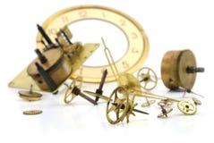 Maquinismo de relojoaria velho Imagem de Stock