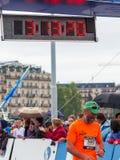 março, ó 2015 maratona da harmonia em Genebra switzerland Fotos de Stock Royalty Free