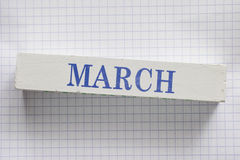 março Fotos de Stock Royalty Free