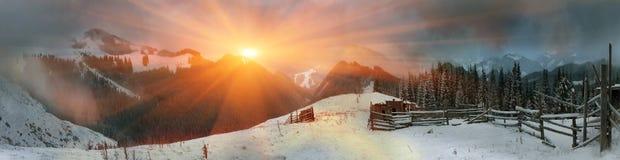 março Carpathians Fotografia de Stock Royalty Free