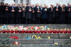 março da dignidade em Kyiv Foto de Stock Royalty Free