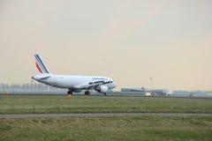 março, 24o 2015, aeroporto F-GKXB Air France de Amsterdão Schiphol Foto de Stock Royalty Free