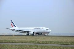 março, 24o 2015, aeroporto F-GKXB Air France de Amsterdão Schiphol Fotos de Stock