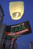 Março para comemorar a invasão de Mavi Marmara Imagens de Stock Royalty Free