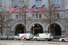março para nosso protesto 18 das vidas, Washington, D C Fotografia de Stock