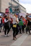 março por nossas vidas - Denver Fotos de Stock Royalty Free