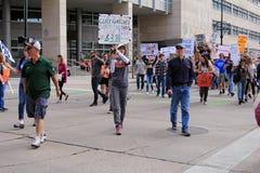 março por nossas vidas - Denver Fotografia de Stock