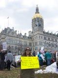 março por nossas vidas em Hartford Connecticut Imagem de Stock