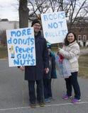 março por nossas vidas em Hartford Connecticut Imagem de Stock Royalty Free