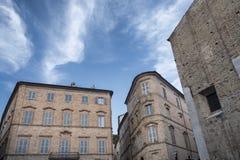 marços de Fermo, Itália fotografia de stock