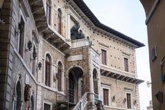marços de Fermo, Itália fotos de stock