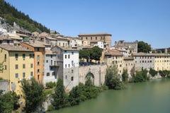 marços de Fossombrone, Italia Fotografia de Stock Royalty Free