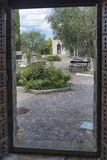 marços de Frontino, Itália: Museu dos espantalhos Foto de Stock Royalty Free