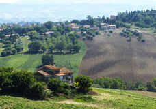 marços (Itália): paisagem do verão Fotografia de Stock Royalty Free